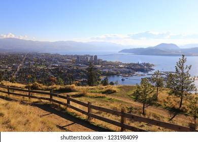 Knox Mountain park, Kelowna, British Columbia, Canada, Okanagan Valley