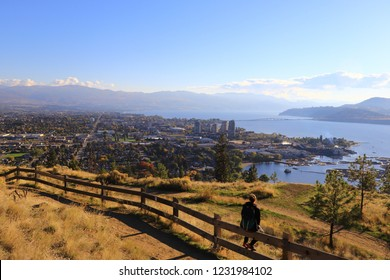 Knox Mountain park, Kelowna, British Columbia, Canada, Okanagan Valley