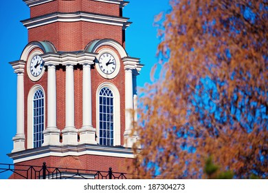 Knoxville courthouse in the autumn scenery