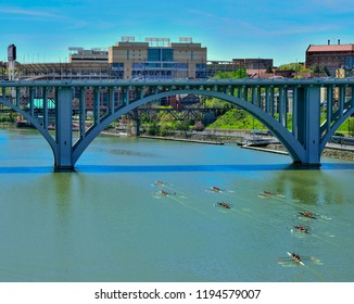 Knoxville Downtown University of Tennessee Rowing