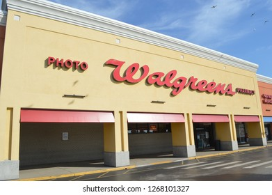 Knoxville Tenn, USA -March 30, 2017: Walgreens is an American pharmaceutical company. It is the largest drug retailing chain in the USA