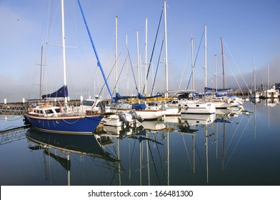 Knysna Waterfront in the Garden Route, South Africa