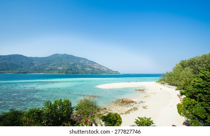 Ko Lipetropical beach paradise in Thailand