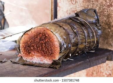 Koba, the national streetfood of Madagascar