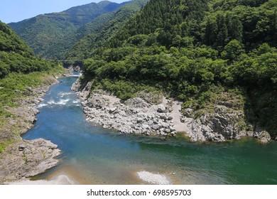 Koboke Gorge - tokusima,japan