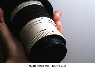 Kobuleti city, Georgia, 22 January of 2019. Canon 70-200 lense close up.