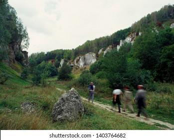Kobylanska Valley, Jura Krakowsko - Czestochowska region, Poland