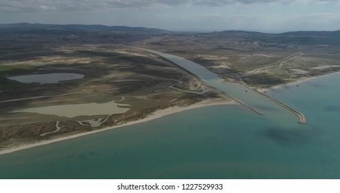 'Koca'stream(in Turkish:Koca dere)/Saros Bay in the Gallipoli(Gelibolu) Canakkale,TURKEY