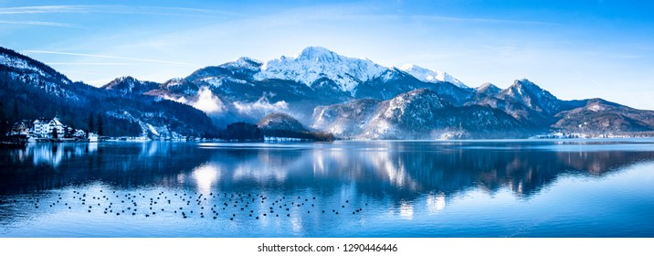 kochel lake - bavaria - germany - european alps