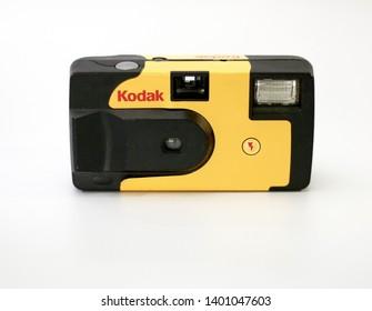 Kodak Disposable Camera, Calgary, Alberta, Canada, May 18, 2019