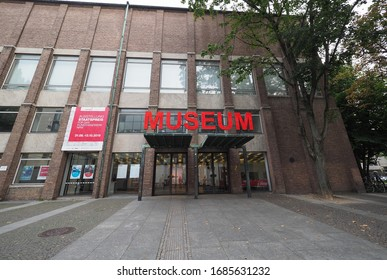 KOELN, GERMANY - CIRCA AUGUST 2019: Museum fuer angewandte Kunst (meaning Museum of applied Arts)