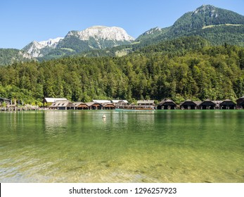Koenigssee lake in germany