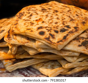 Kofta Flatbread on a market