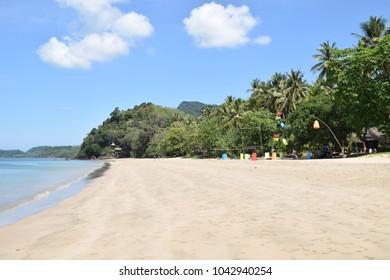 Koh Jum, Ao Si beach, Krabi, Thailand