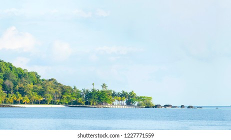 Koh Karm island in Trat province of Thailand.
