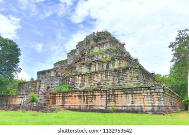 Koh Keh Pyramid, Cambodia