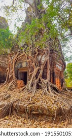 Koh Ker is an ancient Hindu temple in the jungles of Cambodia - Shutterstock ID 1915501051