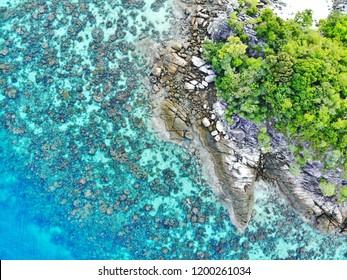Koh Kra is a small island near Koh Lipe, Thailand.