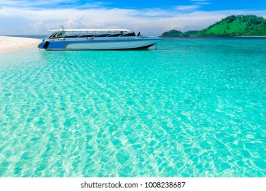Koh Lipe island ,Thailand,southern Andaman sea .It is crystal clear water and white sand beach .