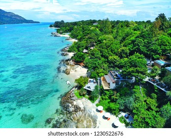 Koh Lipe paradise on earth, clear water, white sand beach, Andaman Sea, south of Thailand.