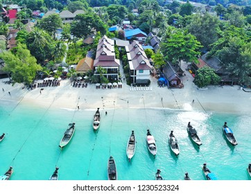 Koh Lipe paradise on earth, clear water, white sand beach, Andaman Sea, south of Thailand