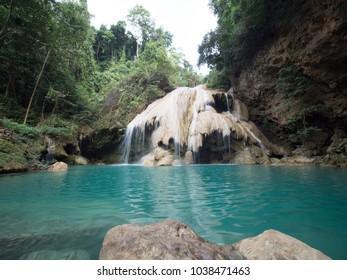 Koh Luang Waterfall, Mae Ping National Park, Lamphun, Thailand