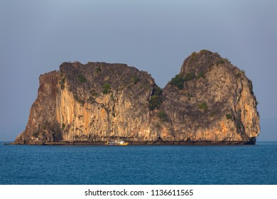 Koh ma (hourse island) look from Koh Ngai island on the southern andaman coast, Trang province, Thailand