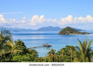 Koh mak, the beautiful island in Thailand