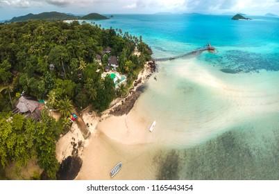 Koh Mak island at Thailand