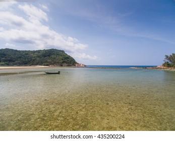 Koh Phangan Thailand beach view