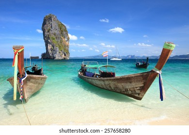 Koh Poda Beach , Krabi, Southern Thailand