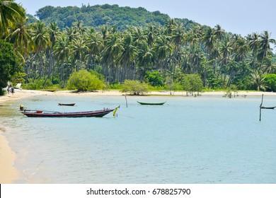 Koh Samui, Surat Thani located on Southern of Thailand