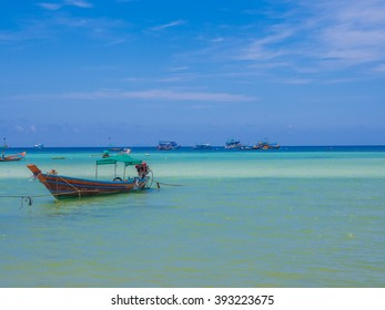 KOH TAO, THAILAND - MAY 1: Beautiful beach in Koh Tao, Thailand on MAY 1, 2015. Koh Tao is an island in Thailand and forms part of the Chumphon Archipelago on the Gulf of Thailand.