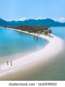 koh yao yai laem had beach in Thailand