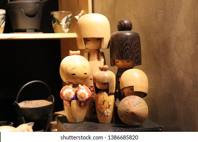 Kokeshi doll, made in japan by  artisans