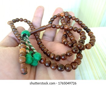 kokka wood prayer beads, Muslim prayer beads