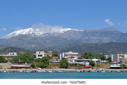 Kokkinos Pirgos on the South Coast of Crete, Greece