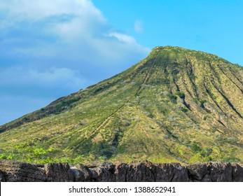 Koko Crater Railway Trail Stairs, Oahu, Hawaii