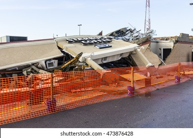 Kokomo - August 24, 2016: Several EF3 tornadoes touched down, one of which destroyed a local Starbucks 13