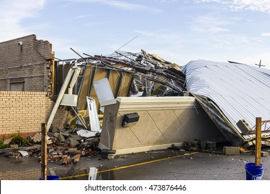 Kokomo - August 24, 2016: Several EF3 tornadoes touched down, one of which destroyed a local Starbucks 7