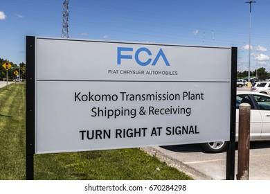 Kokomo - Circa June 2017: FCA Fiat Chrysler Automobiles Transmission Plant. FCA sells vehicles under the Chrysler, Dodge, and Jeep brands X