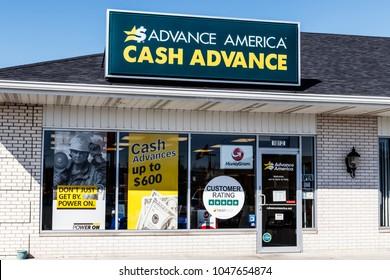 Kokomo - Circa March 2018: Advance America consumer location. Advance America is a payday loan company II