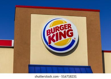 Kokomo - Circa November 2016: Burger King Retail Fast Food Location. Every day, more than 11 million guests visit Burger King I