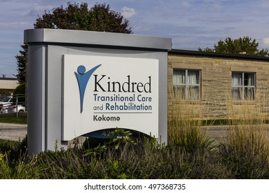 Kokomo - Circa October 2016: Kindred Transitional Care and Rehabilitation, a division of Kindred Healthcare Incorporated V