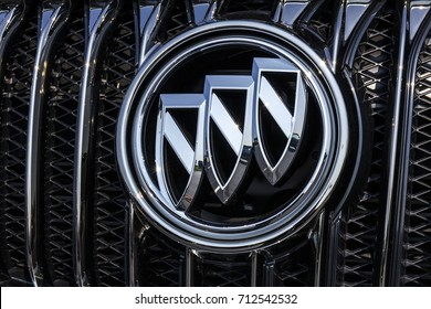 Kokomo - Circa September 2017: GMC and Buick Truck and SUV dealership. GMC and Buick are divisions of GM VI