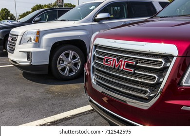 Kokomo - Circa September 2017: GMC and Buick Truck and SUV dealership. GMC and Buick are divisions of GM V