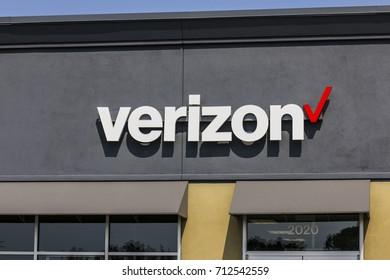 Kokomo - Circa September 2017: Verizon Wireless Retail Location. Verizon is the largest U.S. wireless communications service provider XXII