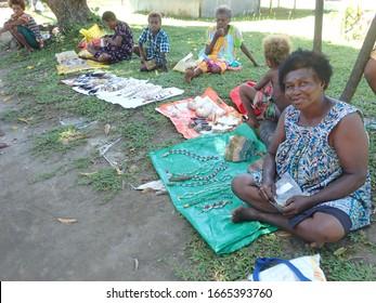 "Kokopo , East New Britain / Papua New Guinea - March 5 2020 :Local Mioko Village in in Duke of York Islands, East New Britain , Papua New Guinea  """