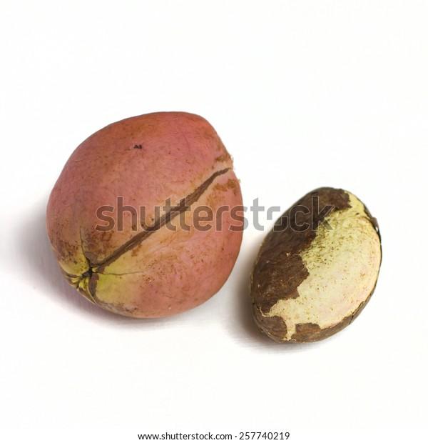 Kola Nut Bitter Kola Nigerian Traditional Stock Photo (Edit