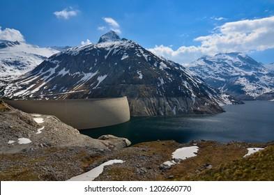 Kolbrein Dam in Austria